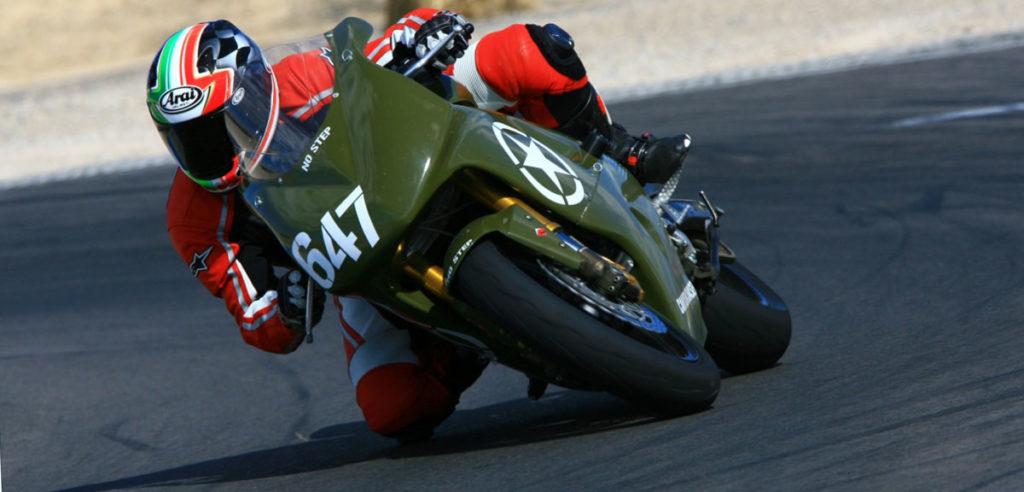 Dunlop Sportmax Army Green SV650