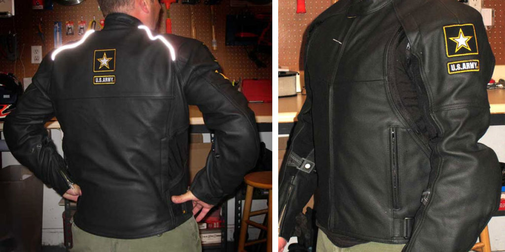 Power Trip Blackhawk Leather Motorcycle Jacket