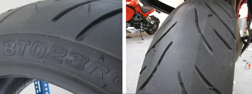 Bridgestone BT023 Tire Test