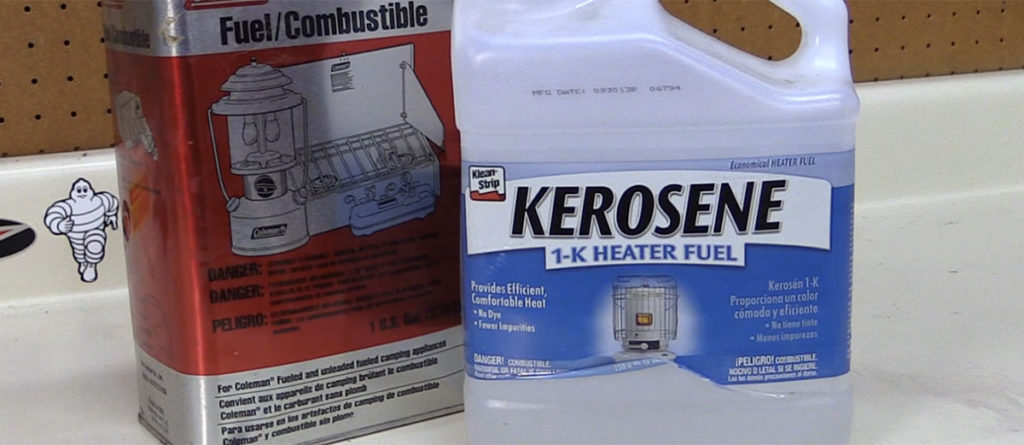 Kerosene vs white gas