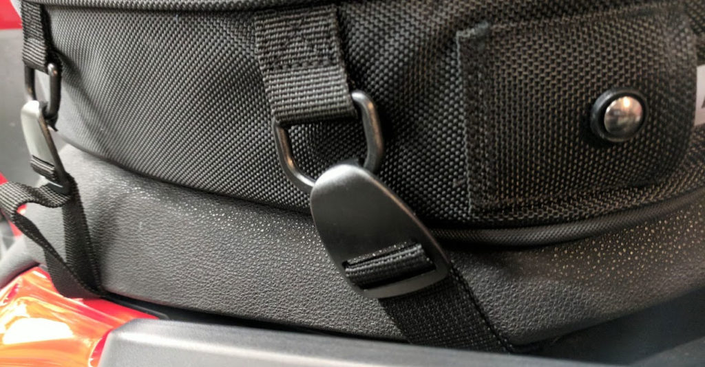 Nelson Rigg CL-1060 Tail Bag attachment points