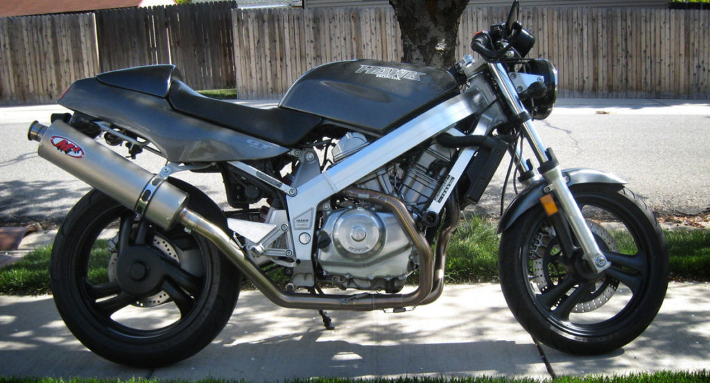 Modestly modded 1988 Honda Hawk GT NT650