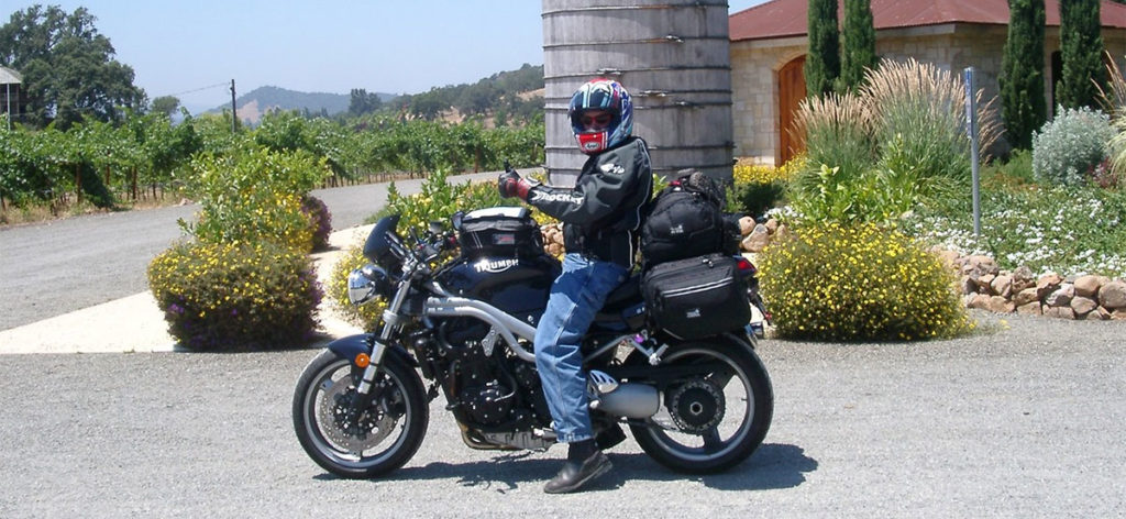 Sport Touring on a Triumph Speed Triple 955i