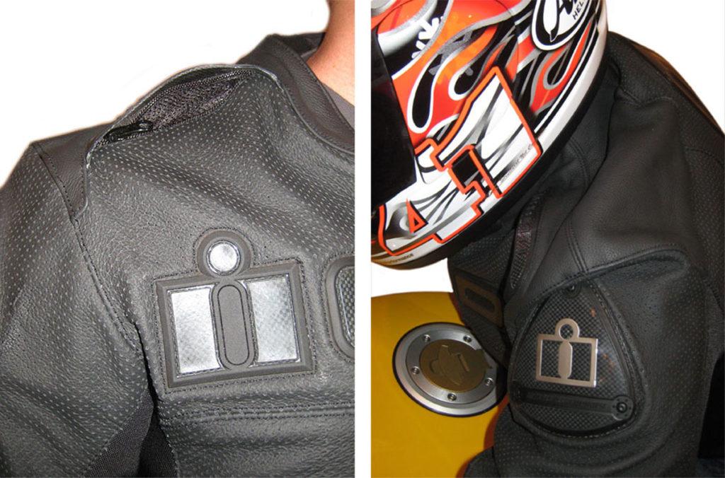 Icon Accelerant Leather Motorcycle Jacket