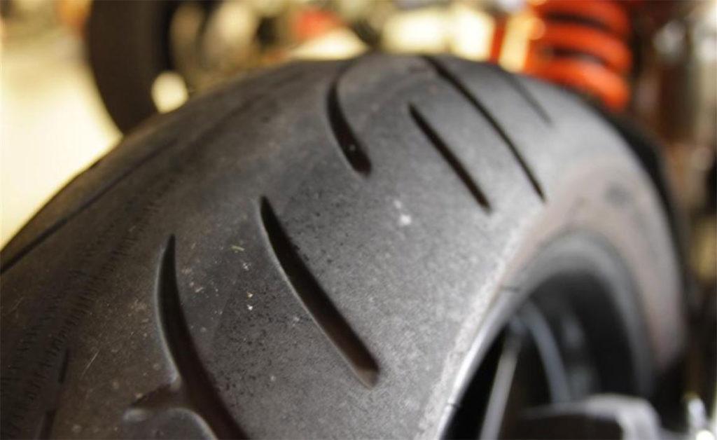 Bridgestone Motorcycle Tire BT023 Wear Bears