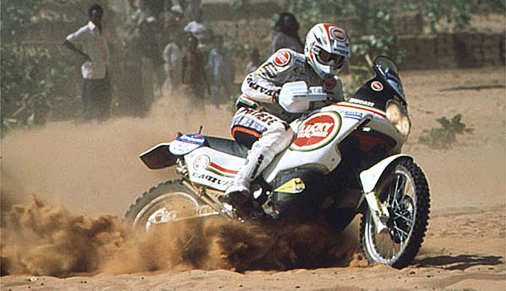 Ducati Cagiva Elefant Lucky Explorer Paris Dakar Winner