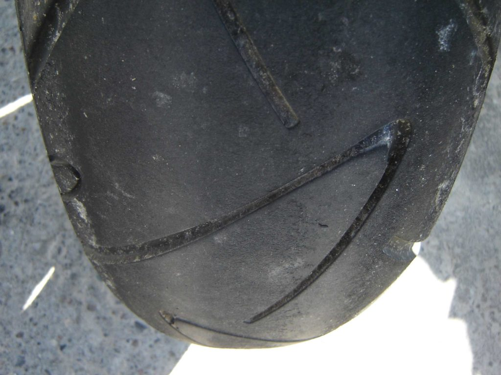 Continental Road Attack Tire Wear