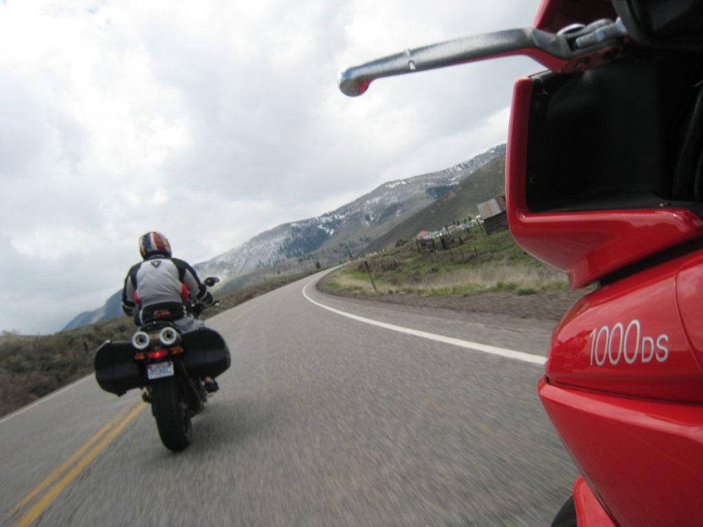 Ducati Multistrada Canyon Mountain Road