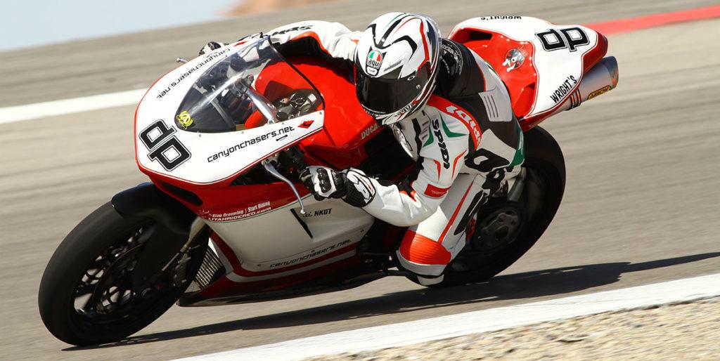 Ducati 848 Superbike Race Track Corner Pirelli Diablo