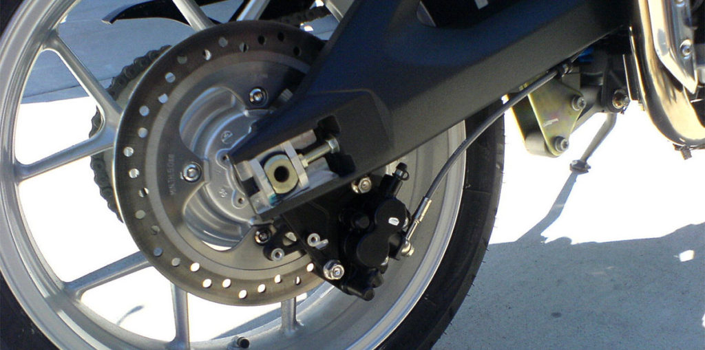 Triumph TIger 1050 Rear Wheel
