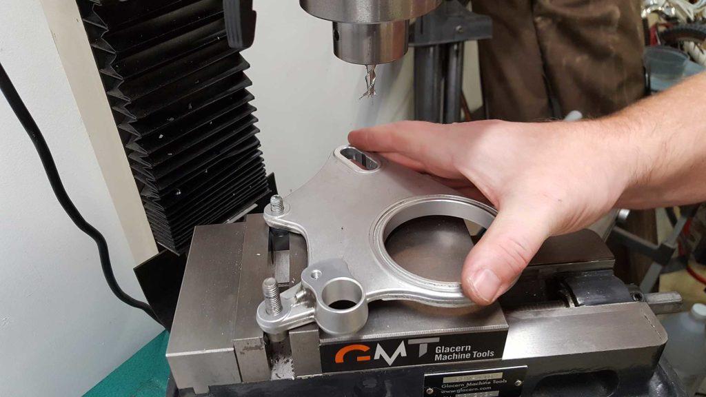 Ducati 848 Chain Adjustment Carrier Eccentric