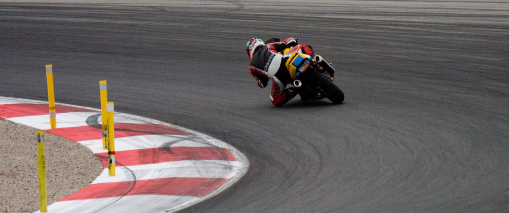 Ducati Supersport Race Track Apex Continental Sport Attack Tire Test