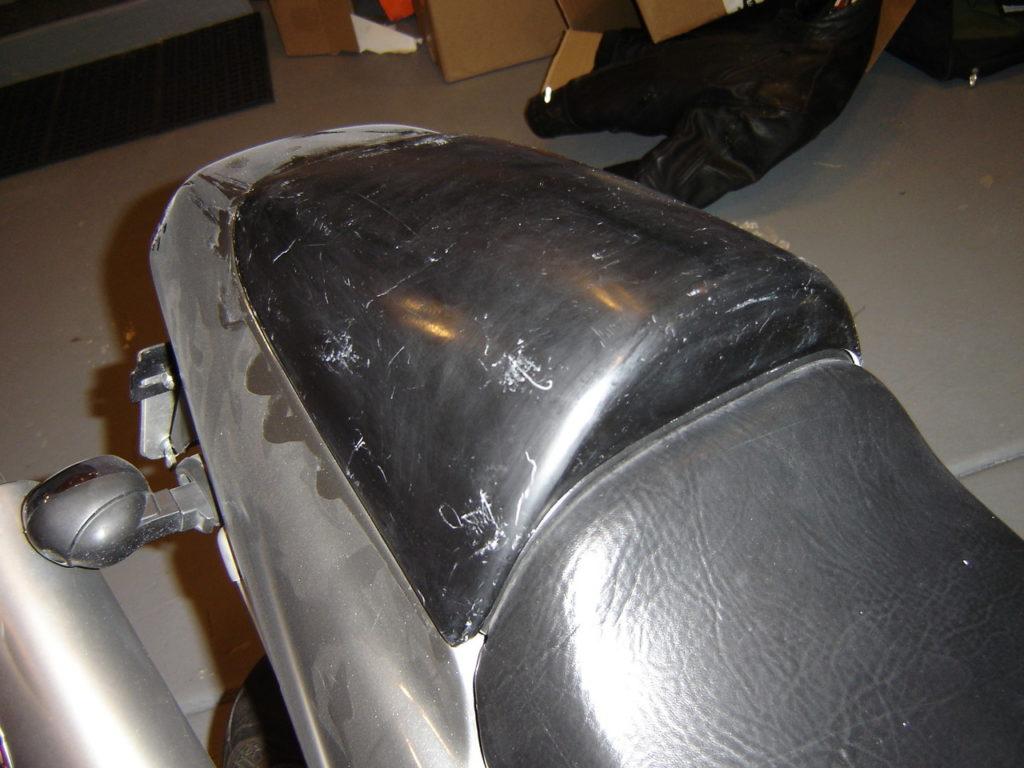 Honda Hawk GT Solo Seat Cowl Cover