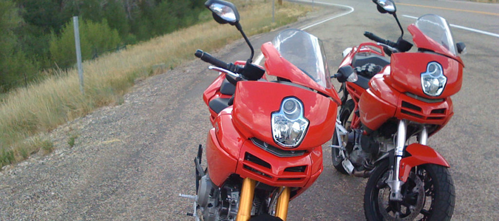 Ducati Multistrada Gen1 Windscreen 1000DS 1100S Split Screen