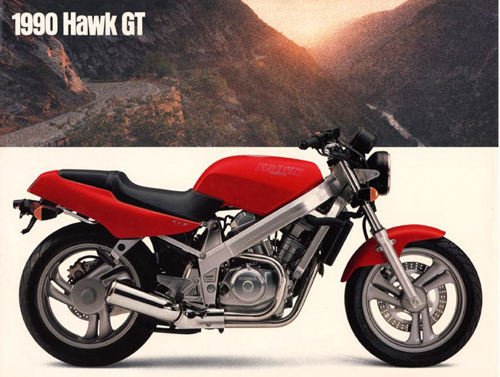 1990 Honda Hawk GT Brochure