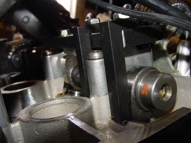 Triumph 955i Valve Adjustment Tip and Tricks special tool