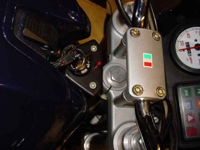 Ducati Monster Polly In-bar heated grips motorcycle install how to