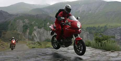 Multistrada riding the Centopassi