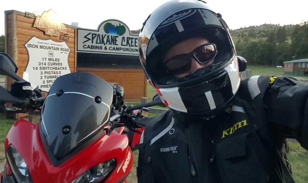 Klim Badlands Gore-Tex Riding Jacket Test