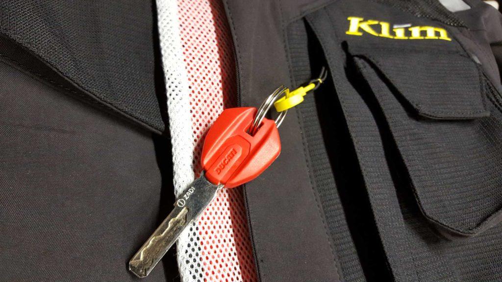 Klim Badlands Motorcycle RIding Coat Pockets